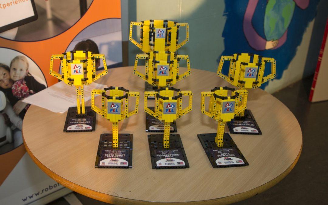 Fladderbots winnen FLL regiofinale