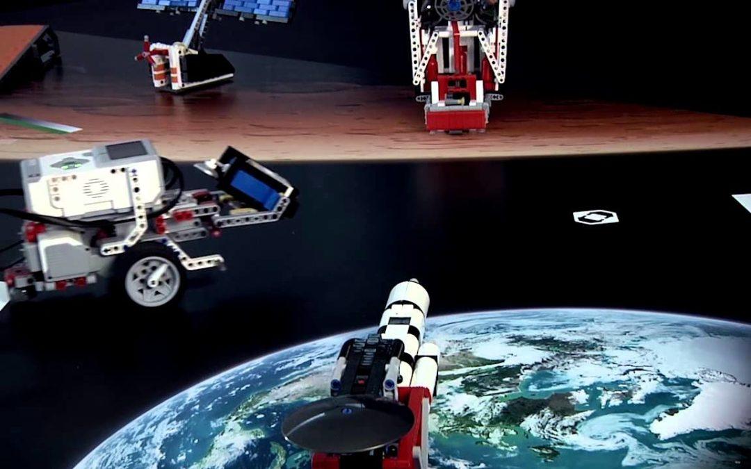 Regiobijeenkomsten First Lego League 'Into Orbit'