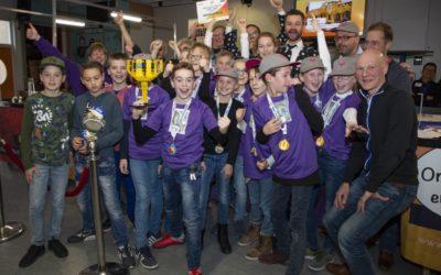 Het Mozaïek winnaar First LEGO League Flevoland