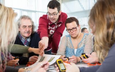 Online Meet-up's lokaal onderwijs en bedrijven
